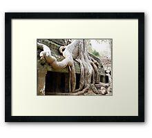 Cambodia. Angkor Wat , Siem Reap 51 Framed Print