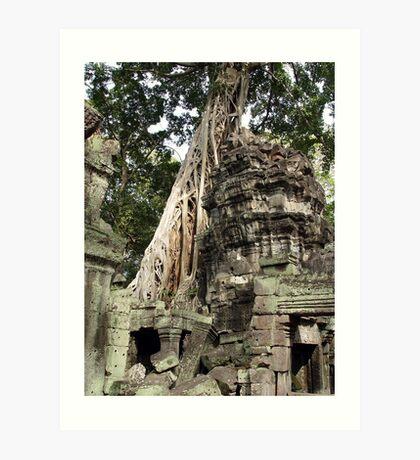 Cambodia. Angkor Wat , Siem Reap 52 Art Print
