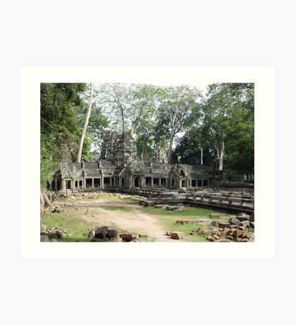 Cambodia. Angkor Wat , Siem Reap 55 Art Print