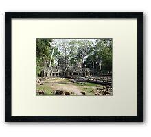 Cambodia. Angkor Wat , Siem Reap 55 Framed Print