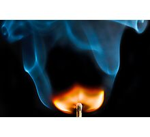 Flame On Photographic Print