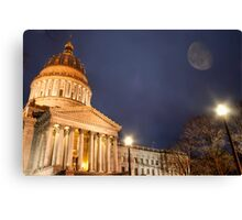 Capital Evening Canvas Print