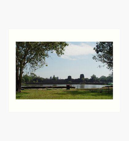 Cambodia. Angkor Wat , Siem Reap 64 Art Print