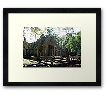 Angkor Wat , Siem Reap Framed Print