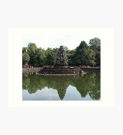 Cambodia. Angkor Wat , Siem Reap 67 Art Print