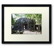 Cambodia. Angkor Wat , Siem Reap 69 Framed Print