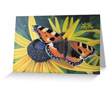 September Butterfly Greeting Card