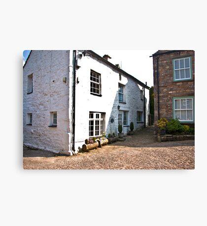 Church Cottages - Dent,Cumbria Canvas Print
