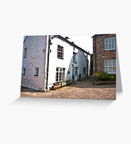 Church Cottages - Dent,Cumbria Greeting Card