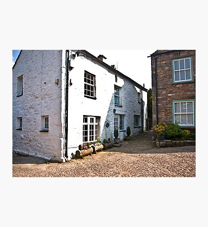 Church Cottages - Dent,Cumbria Photographic Print