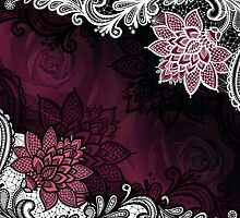 Lace & Roses by TinaGraphics