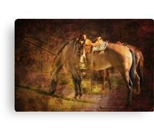 Every Saturday Morning Canvas Print