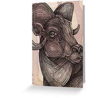 The Ram Greeting Card
