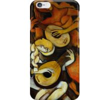The Lute Players iPhone Case/Skin