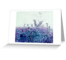 Odessa chasing Orb Greeting Card