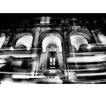 City night lights Photographic Print
