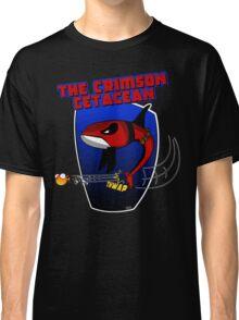 The Crimson Cetacean Classic T-Shirt