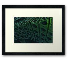 Girders Framed Print