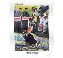 """GretchenArt """"Cinco de Mayo"""" Poster"""