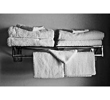 Towel's Photographic Print