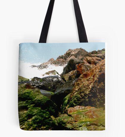 Moss on the Rocks Tote Bag
