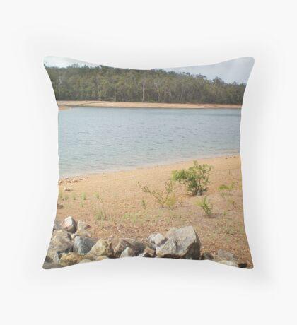 Ten Mile Brook Dam Throw Pillow