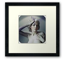 Breathe in through me Framed Print