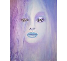BLUE LADY Photographic Print