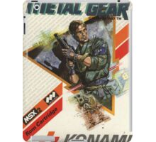 Metal Gear NES iPad Case/Skin
