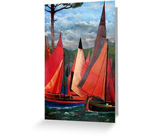 Ravenna Regatta Greeting Card