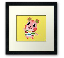 Apple the Hamster Framed Print