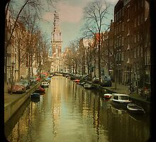The Zuiderkerk at Amsterdam by silviareitsma