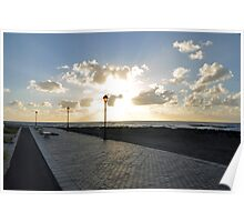 Sunrise Coastal Path Fuerteventura Poster