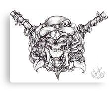Guns n roses Slash  Canvas Print