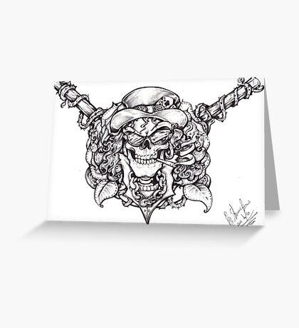 Guns n roses Slash  Greeting Card