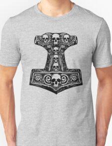 Thors Hammer Black T-Shirt