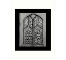 Chapel Window Art Print