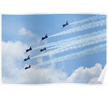 The T-28 Warbird Aerobatic Formation Demonstration Team Poster
