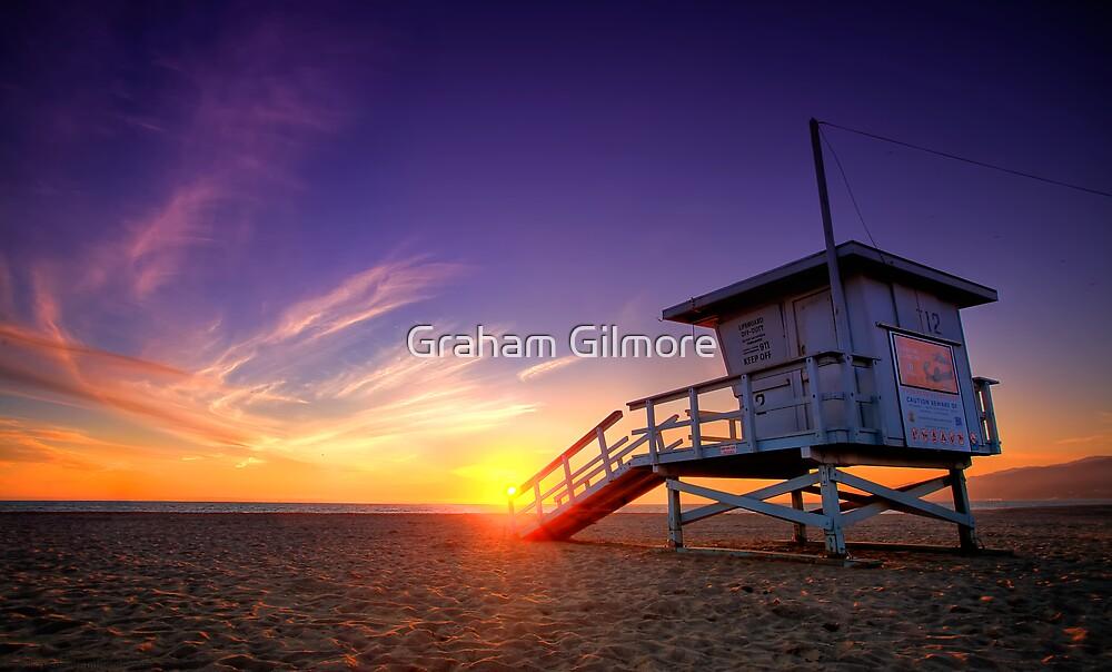 Santa Monica Sunset #1 by Graham Gilmore