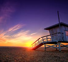 Santa Monica Sunset #1 by Graham Gilmore