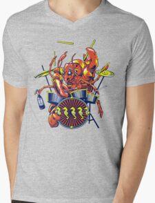 Rocking Lobster Mens V-Neck T-Shirt