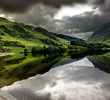 Buttermere Spin by Garry Copeland