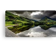 Buttermere Spin Canvas Print