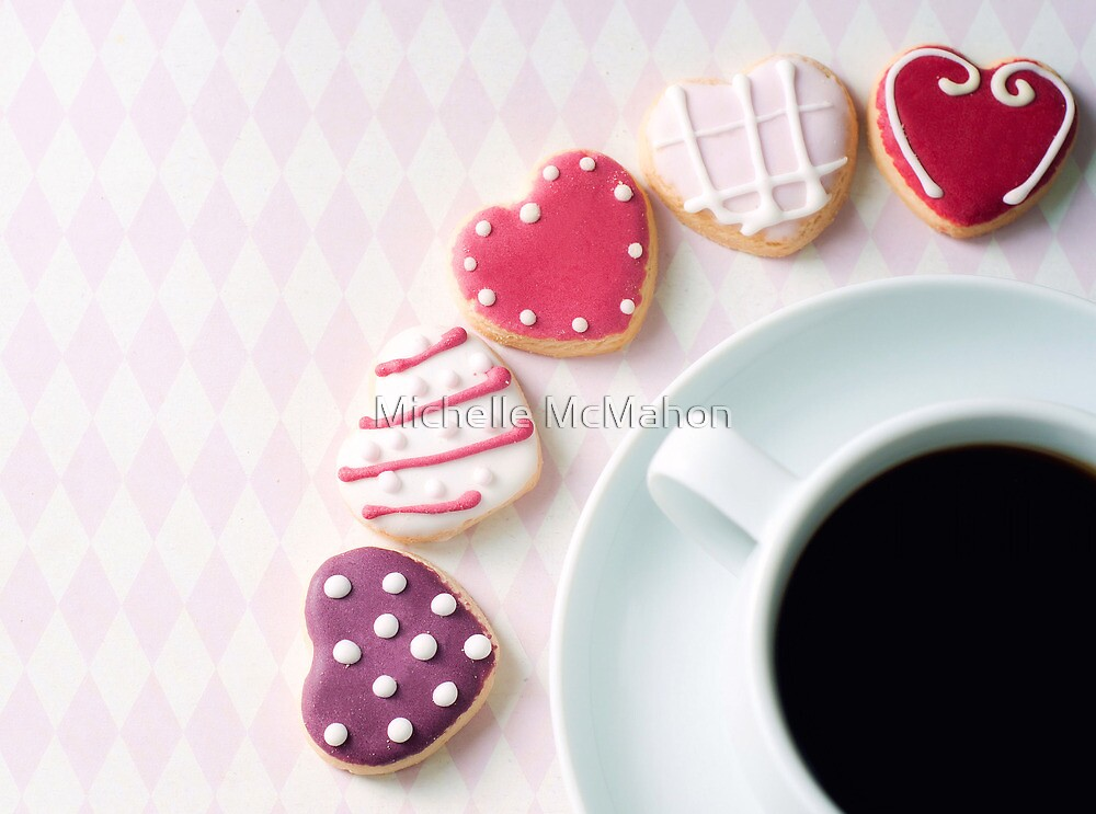 heart cookies.. by Michelle McMahon