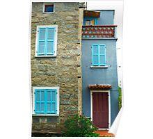 Sotta's coloured house Poster