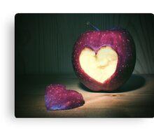 hearty apple Canvas Print