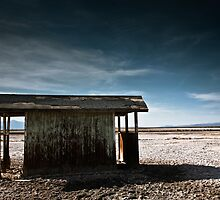 Abandoned Hut - Salton Sea by Graham Gilmore