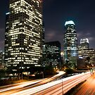 Downtown Los Angeles Freeway by Graham Gilmore