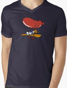 Rescue Rangers Plane Mens V-Neck T-Shirt