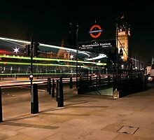 Westminister @ night by mostaque
